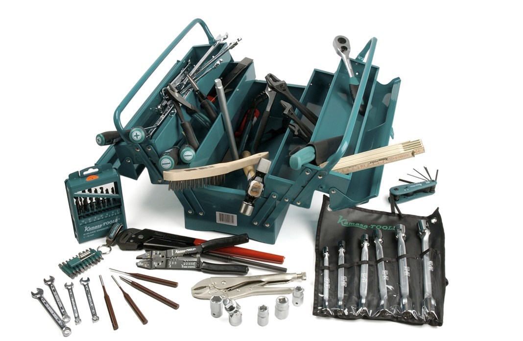 Tools in box, 98-piece