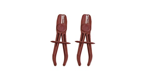 Hose plier set, 2-piece