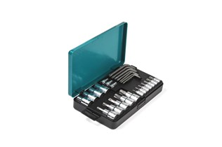 Socket bits set for TORX®, 26-pcs