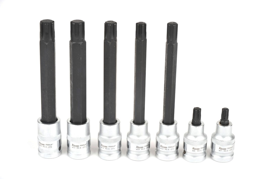 RIBE-socket set, 7-piece