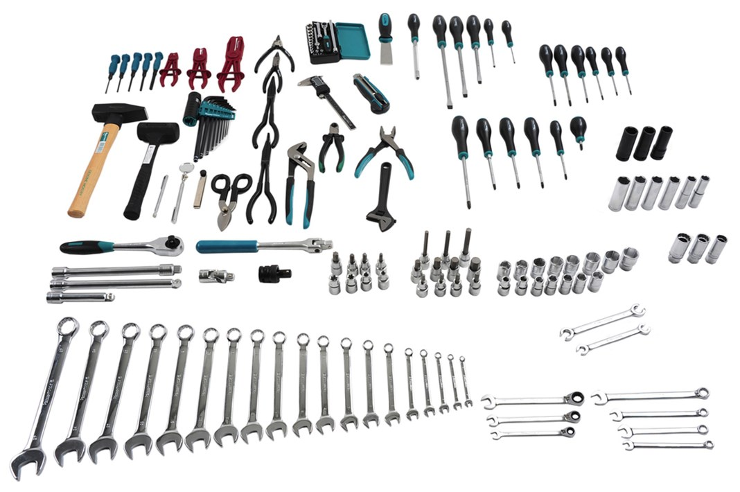 "Tool set, 1/2"", for tool cabinets"