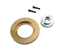 On many new cars, bearings and wheel hubs are assembled as a single unit. In these cases special tools are needed to avoid damaging the bearing.This set can be used to remove 72 mm diameter bearings. Used in combination with K 10347 basic set/ K22508.