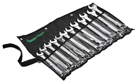 Combination wrench set, 20-32 mm
