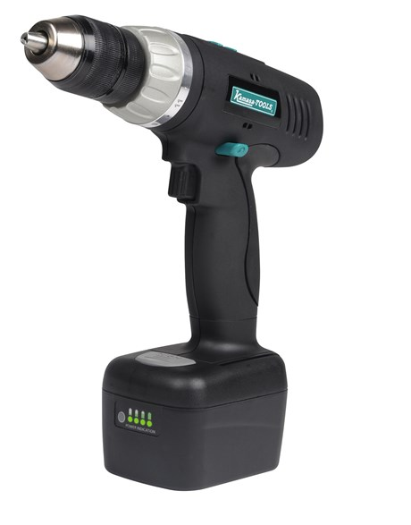 Cordless drill/ driver, 18 V, 2 x batteries