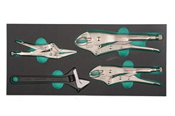 Locking pliers and adjustable wrench