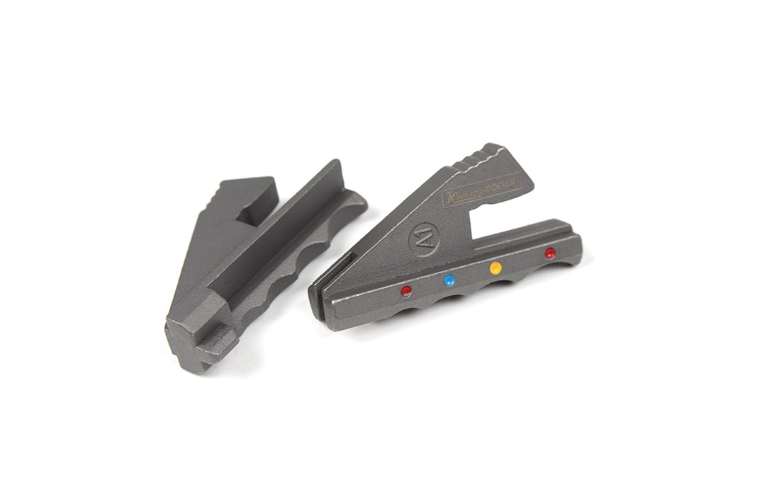 Jaws for crimping tool