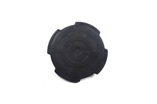 Rubber pad for lifting saddle
