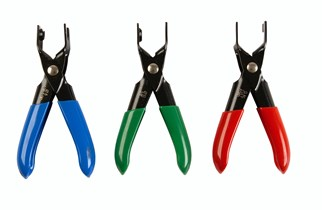 Pliers set for fuel lines
