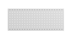 Perforated panel, 861 mm, grey