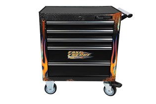 Tool trolley, 5 drawers, FastFred